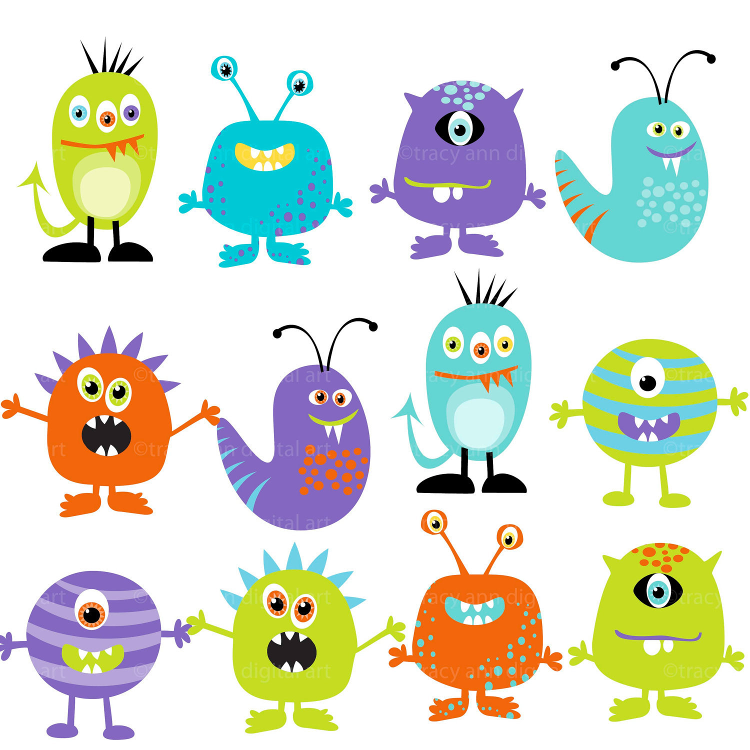 Baby Monsters Clipart 20 Free Cliparts