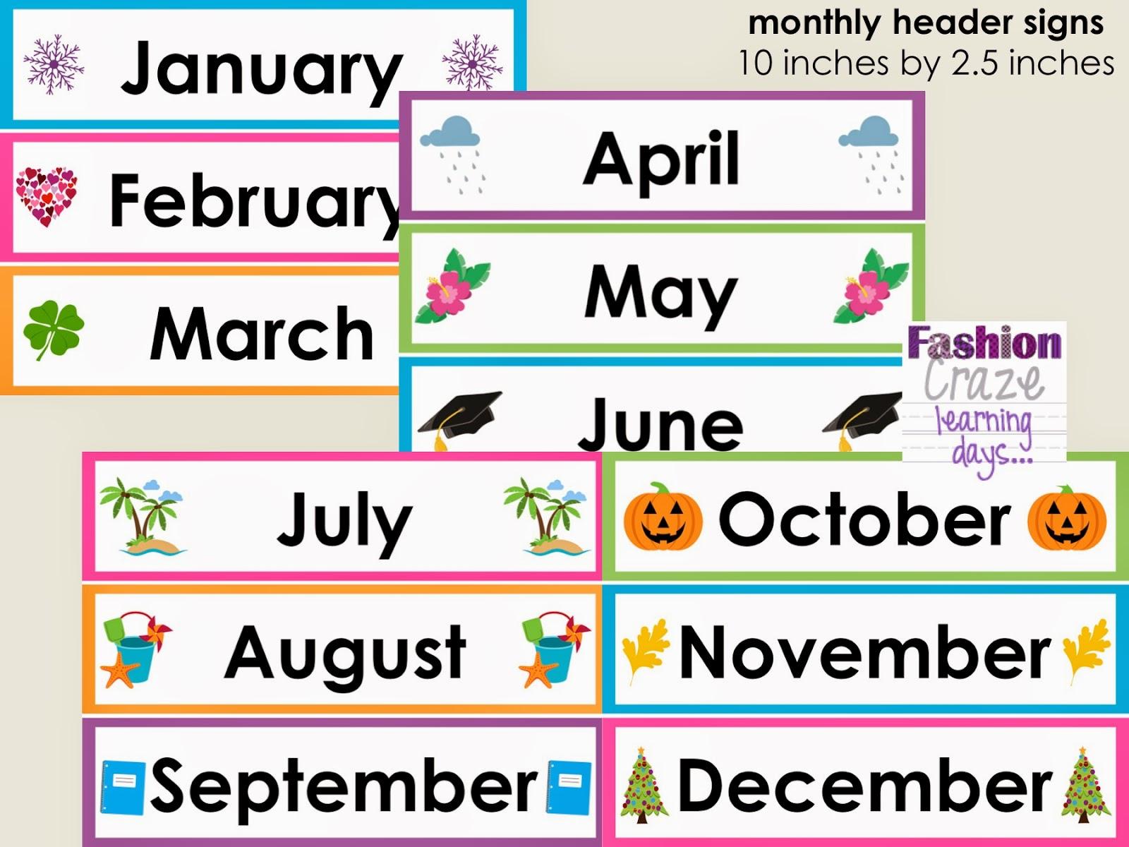 May Calendar Heading Clipart 20 Free Cliparts
