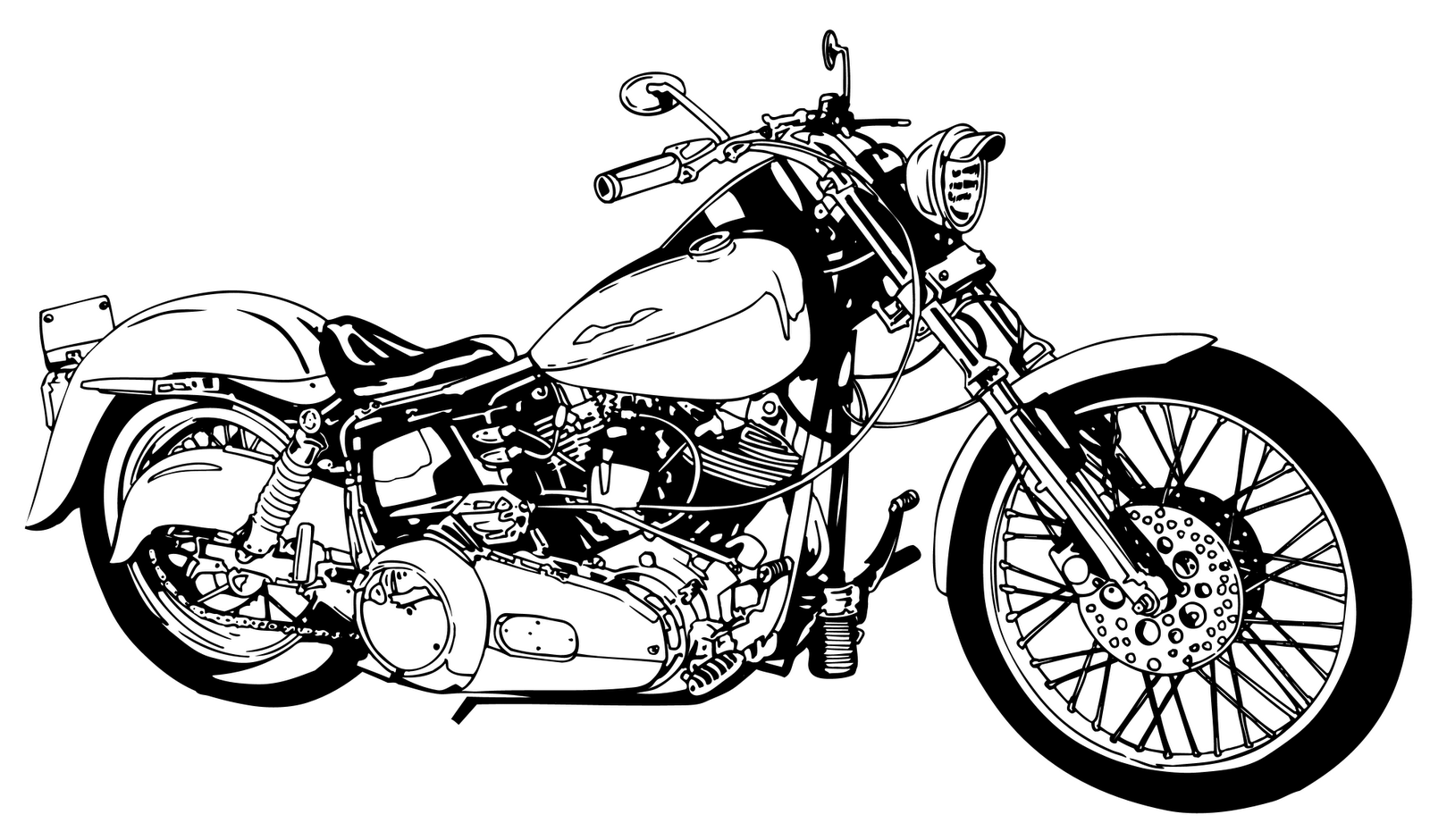 Motorcycles Clipart 20 Free Cliparts