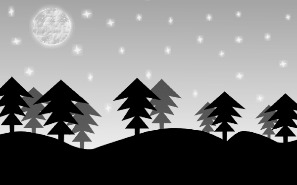 Night Scenery Clipart Clipground