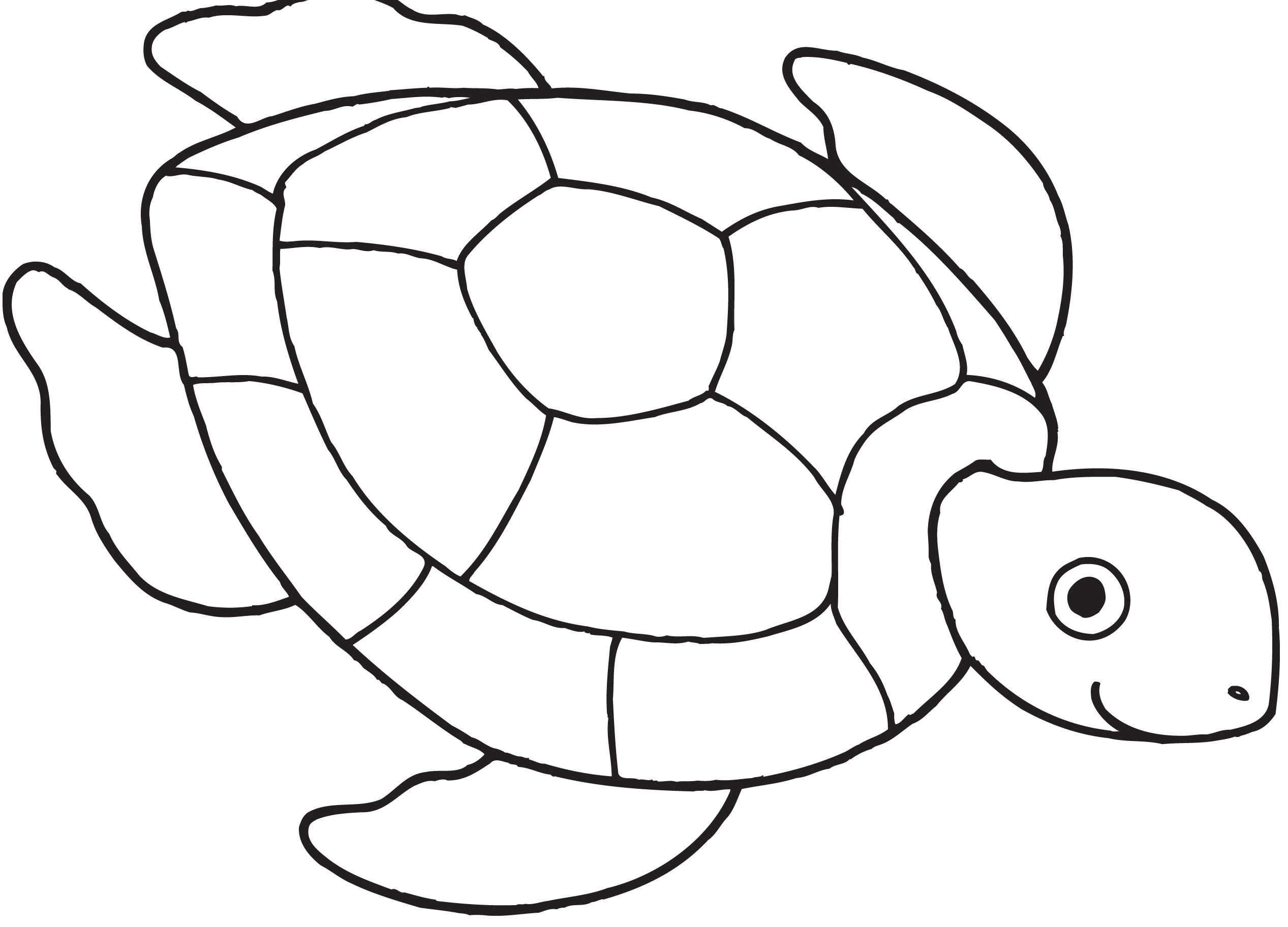 Ninja Turtles Black And White Clipart