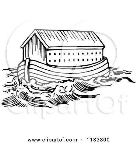 Noahs Ark Clipart Black And White Clipground
