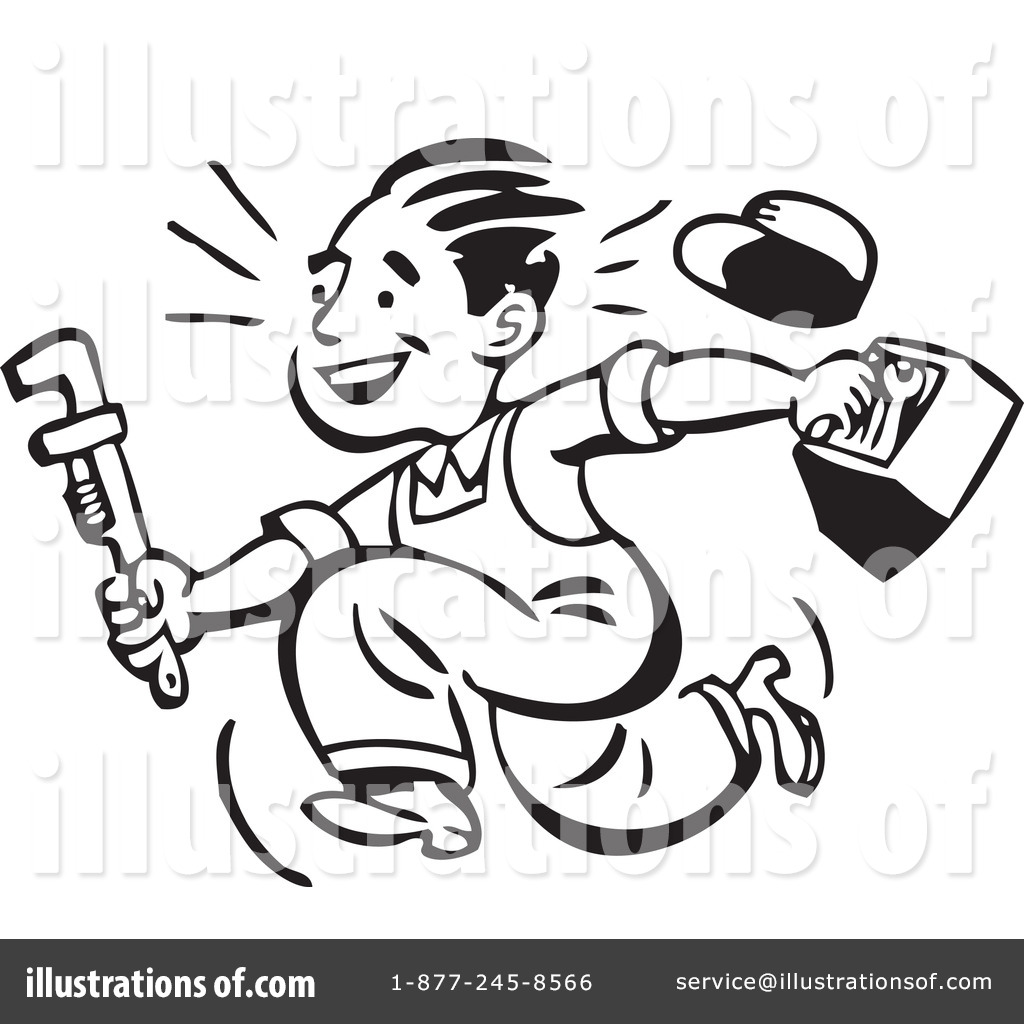 Occupations Clipart Black And White