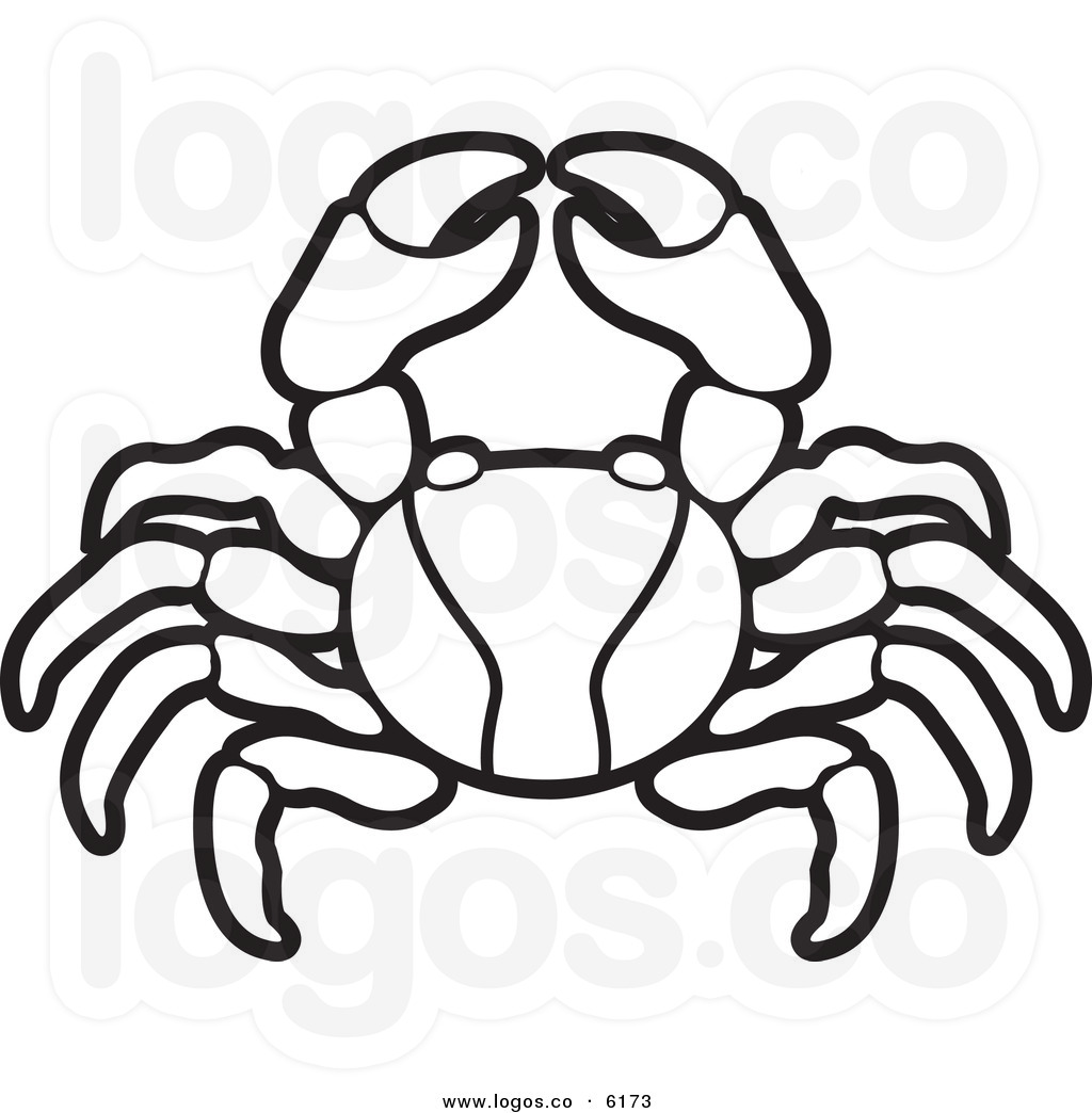 Ocean Animal Clipart Black And White
