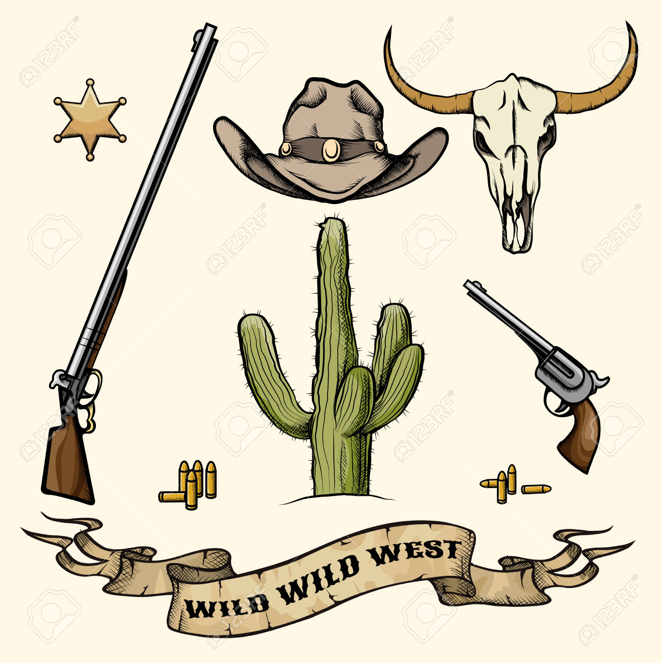 Old West Sheriff Badge Clip Art 20 Free Cliparts