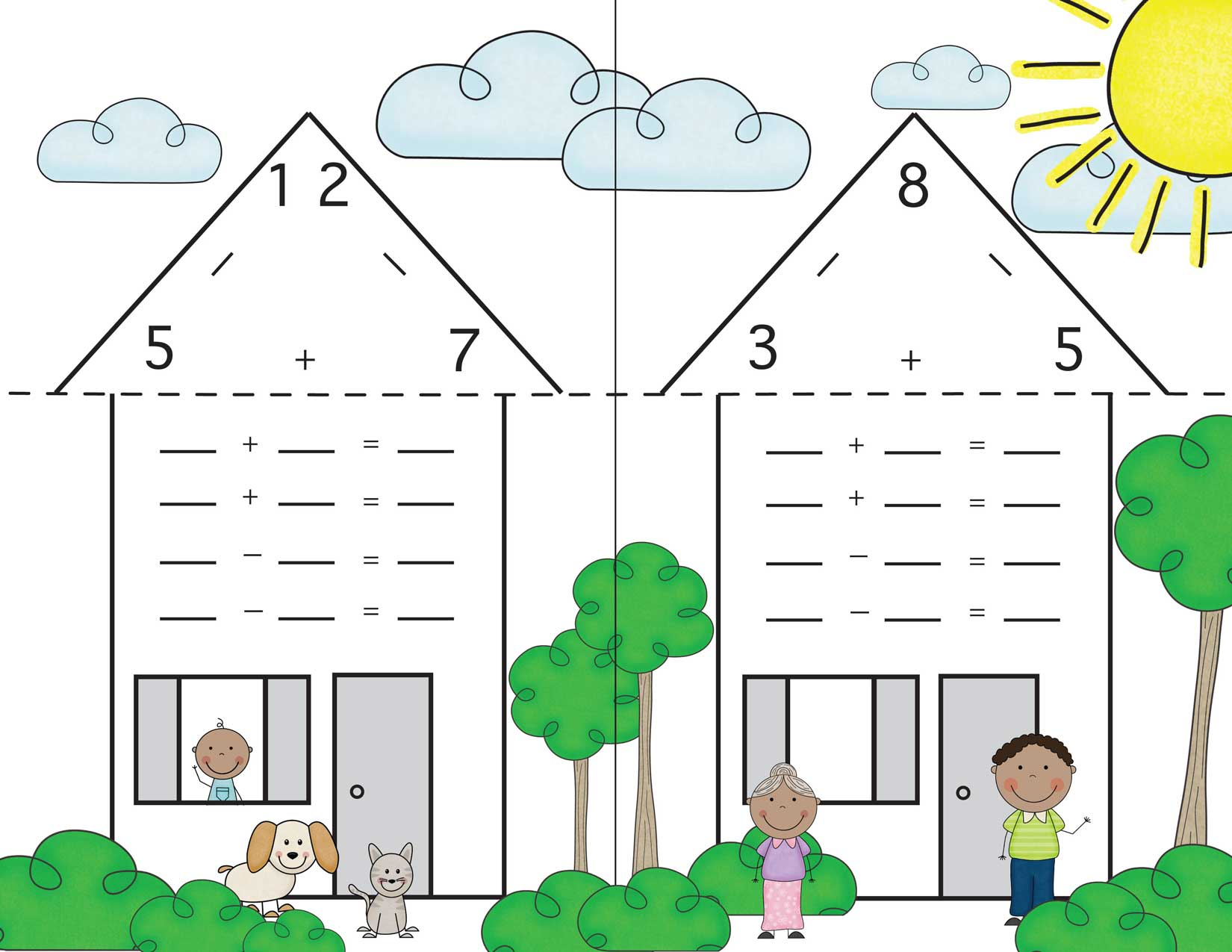 House Addition Clipart