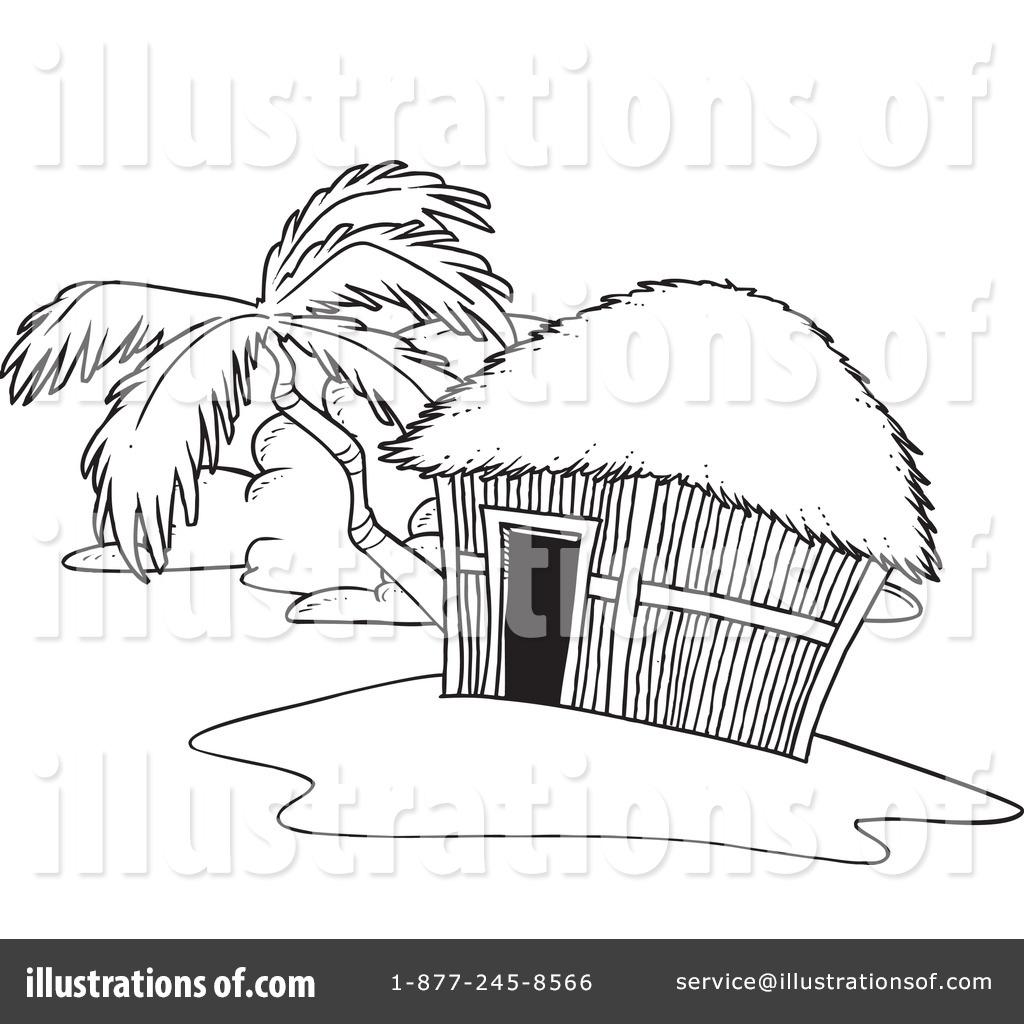 Ostler Hut Clipart