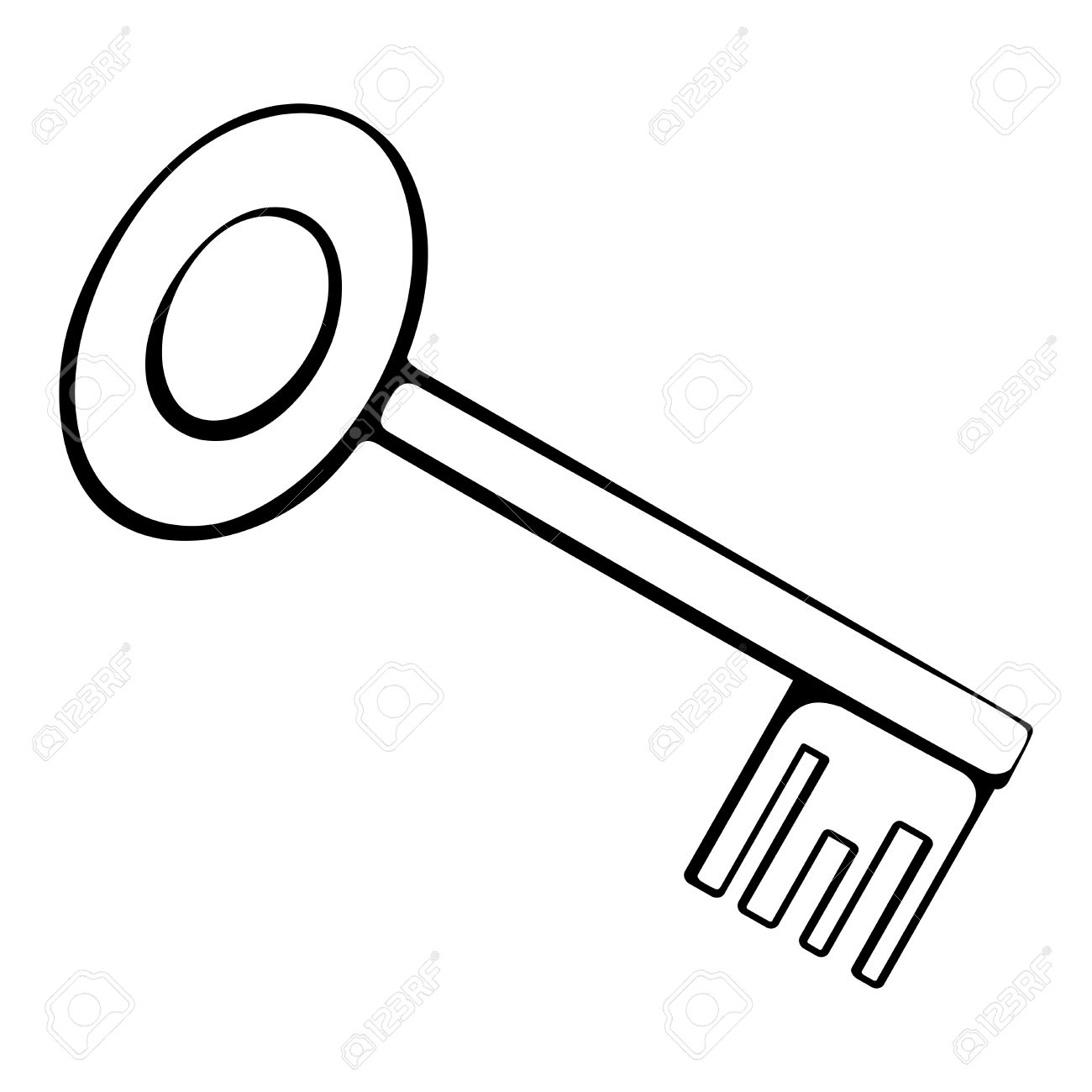 Outline Of A Key Clipart 20 Free Cliparts