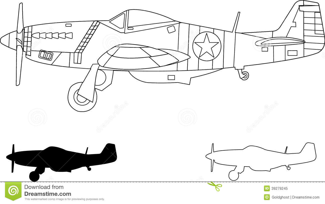 P 51 Clipart 20 Free Cliparts
