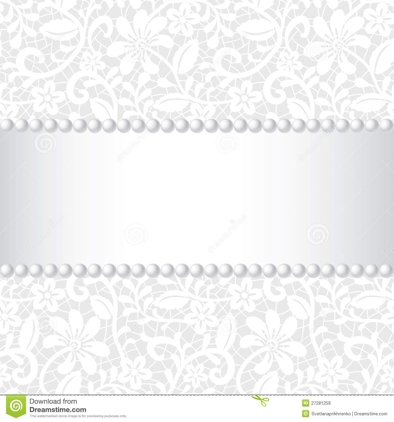 Pearls And Lace Clipart Free