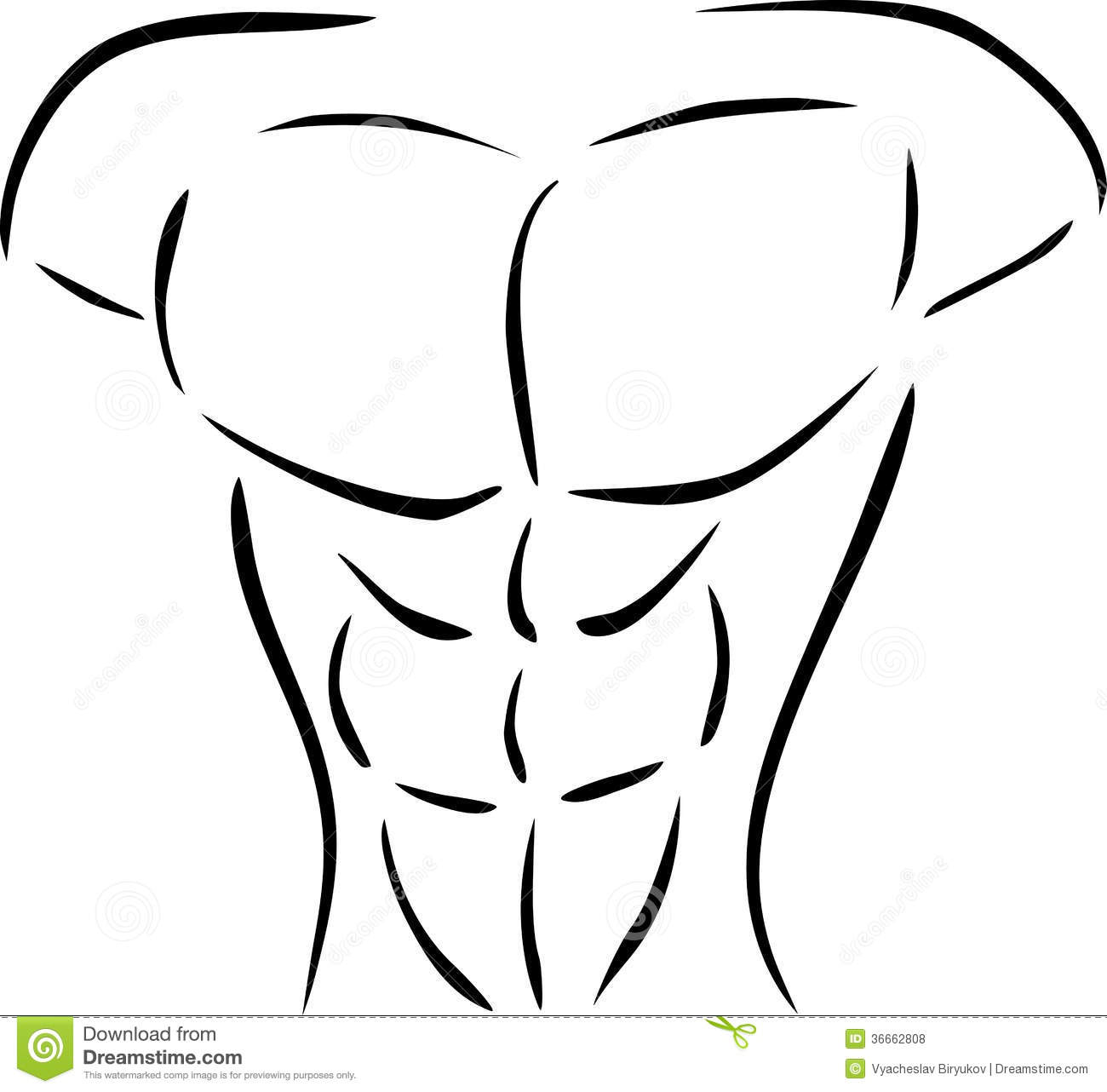 Black And White Body Clipart 20 Free Cliparts