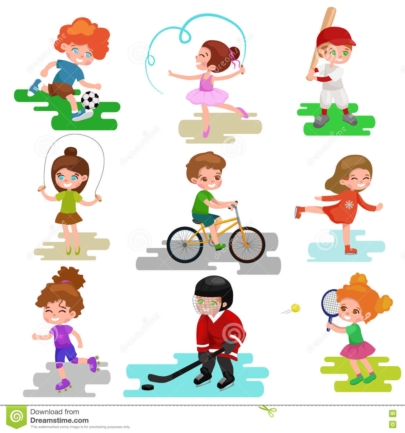 Play An Active Clipart 20 Free Cliparts