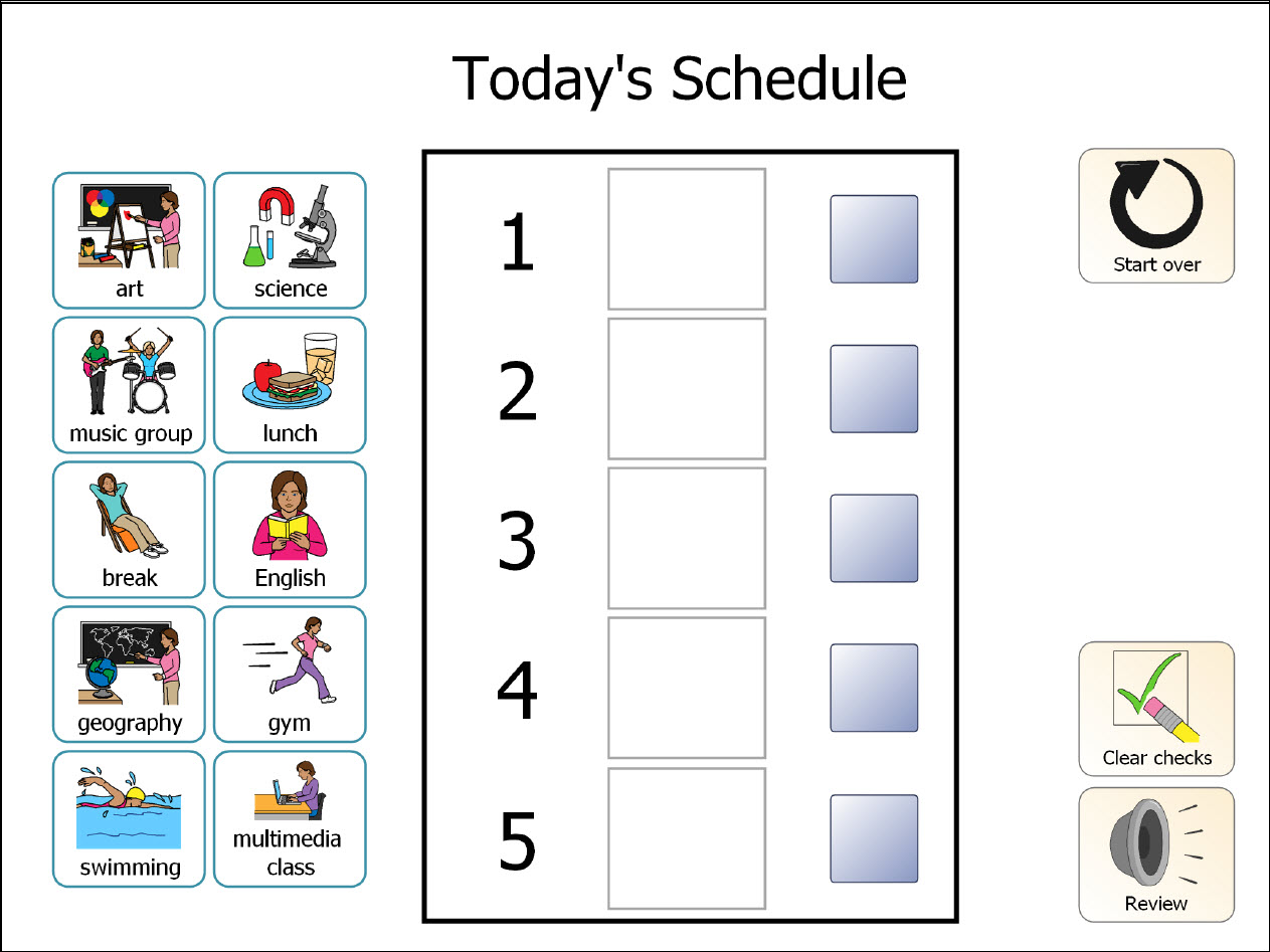 Printable Classroom Schedule Template Clipart 20 Free Cliparts