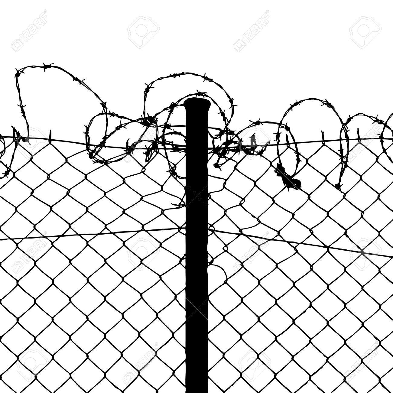 Prison Fence Clipart