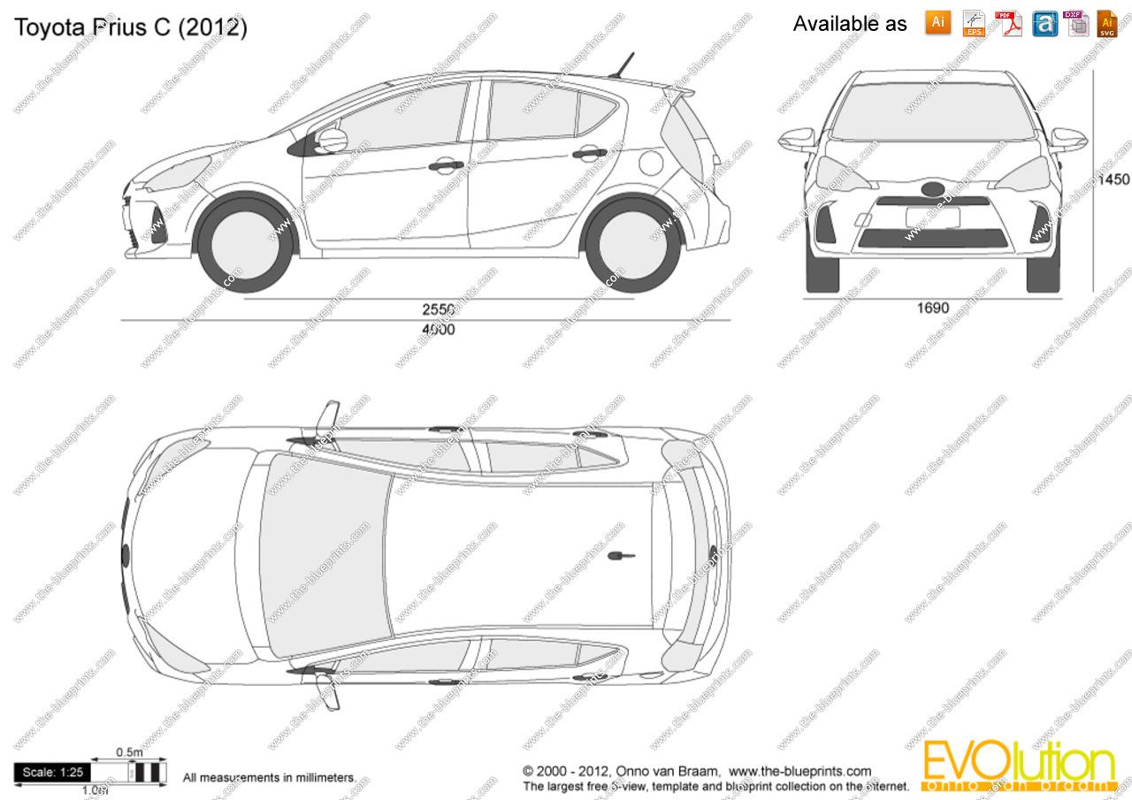 Prius C Clipart