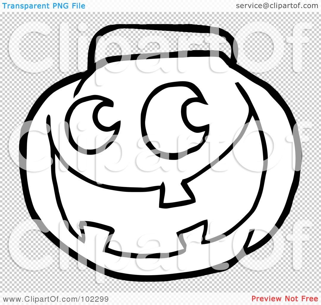 Pumpkin Bucket Clipart