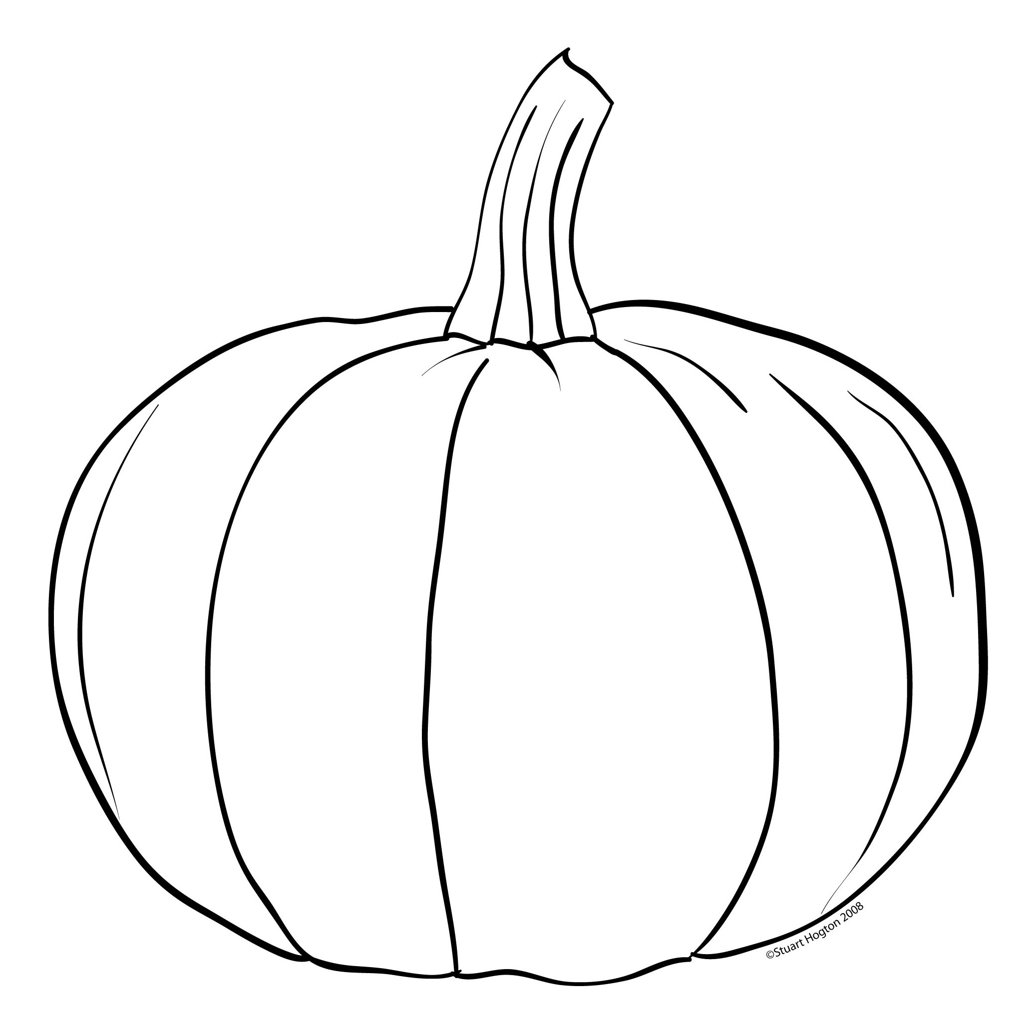 Inside Of A Pumpkin Clipart Black And White 20 Free