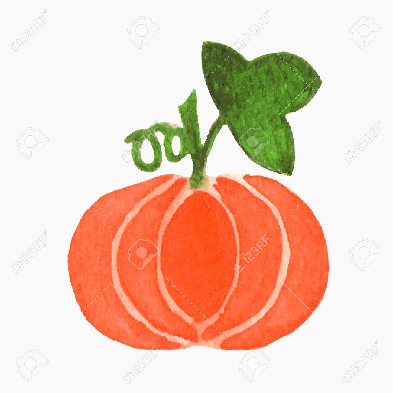 Pumpkin Clipart Traaced