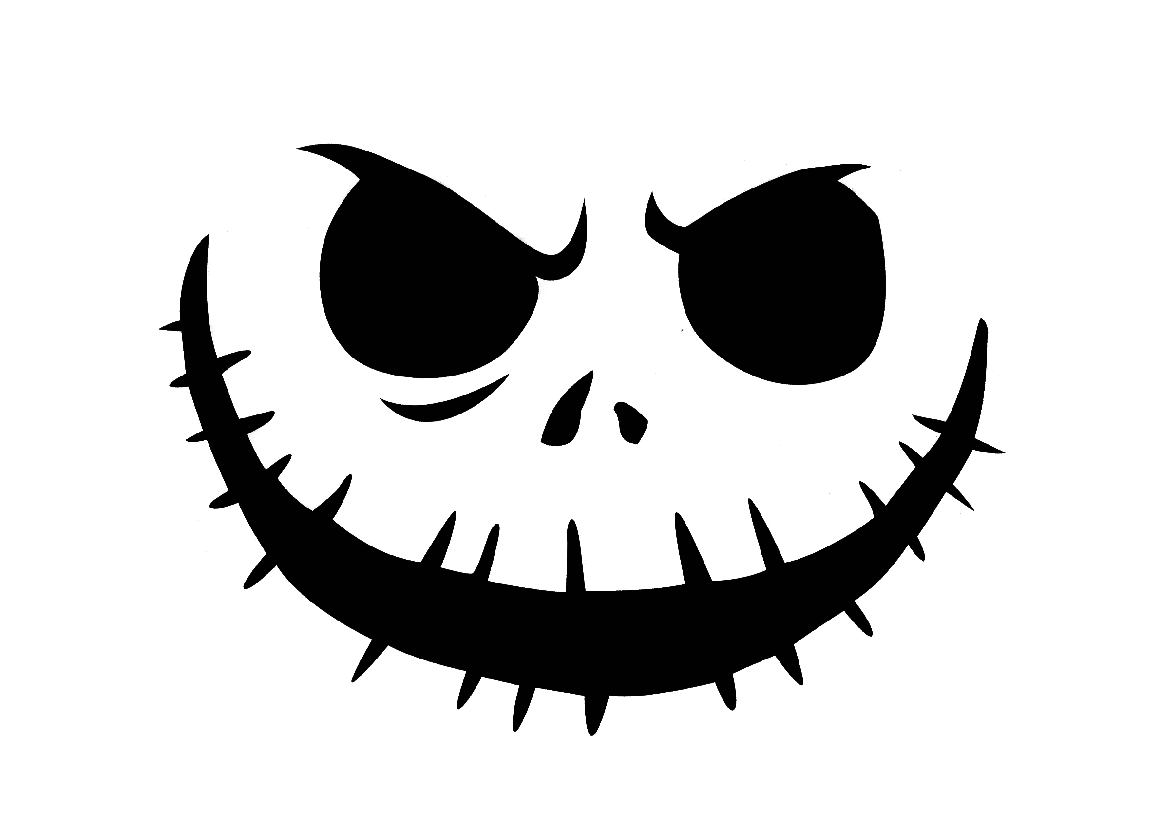 Pumpkin Mouth Cut Out Clipart