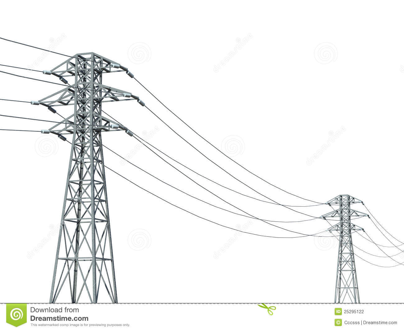Pylons Clipart