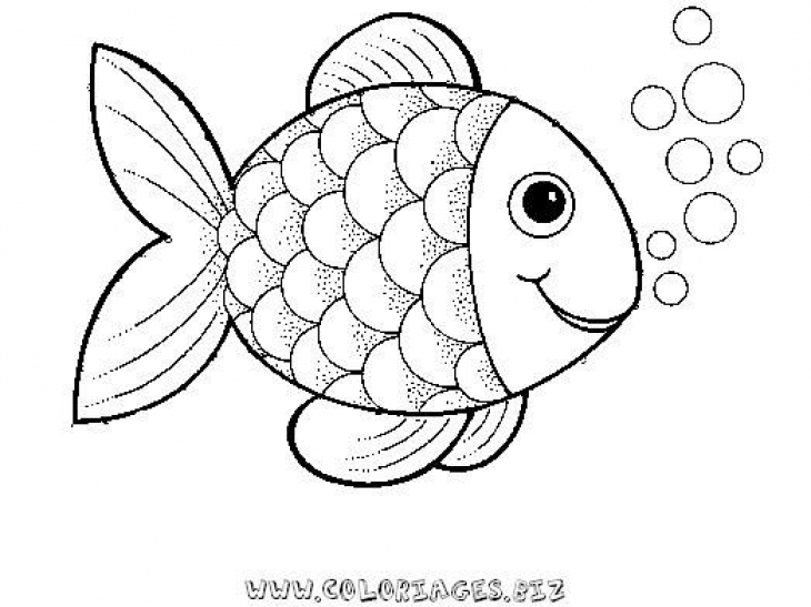 Rainbow Fish Clipart Black And White Clipground