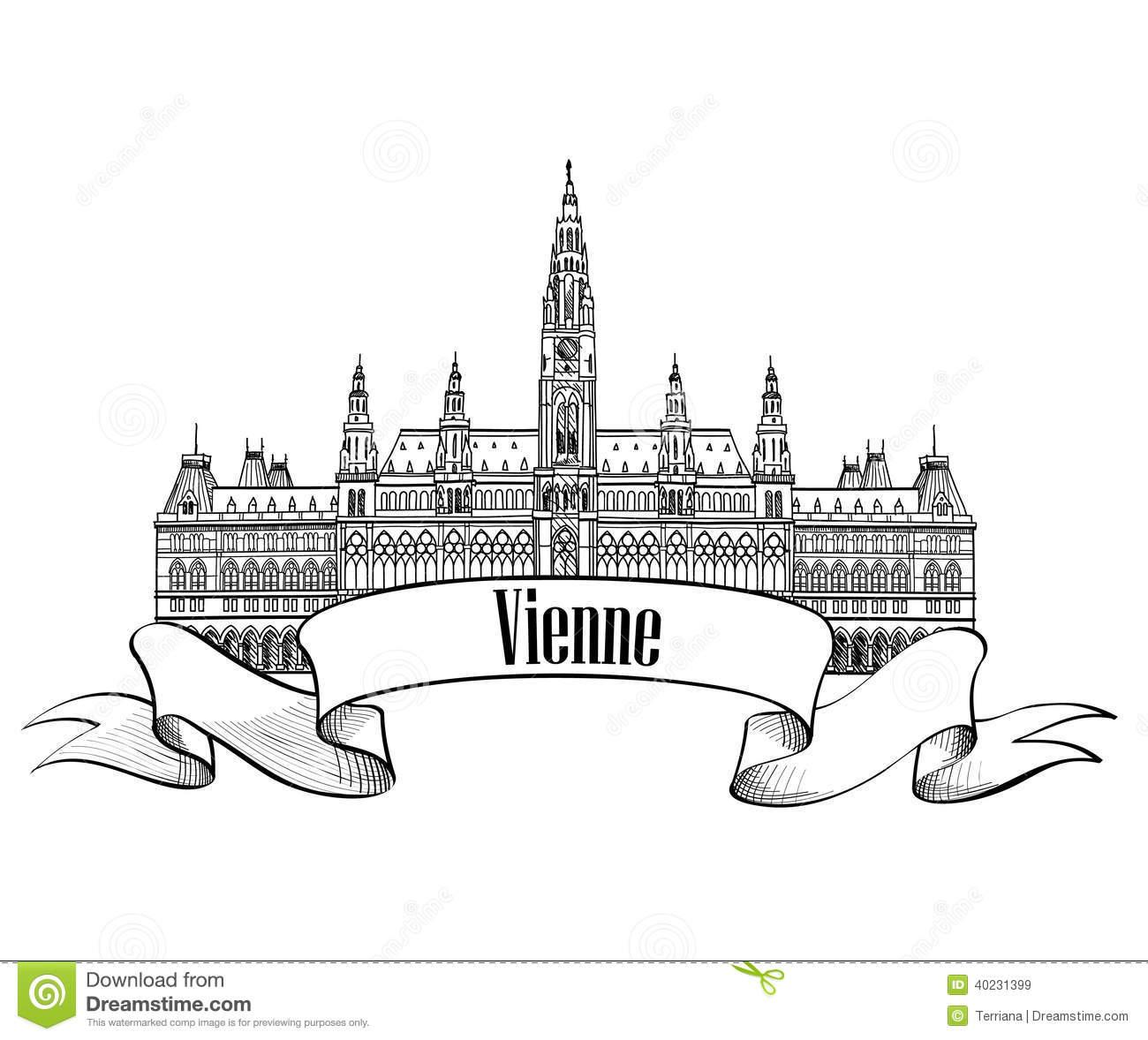 Rathaus Clipart