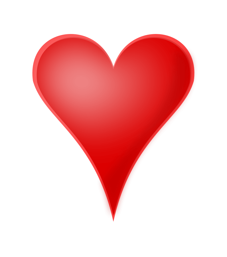 Red Heart Clipart High Resolution Clipground