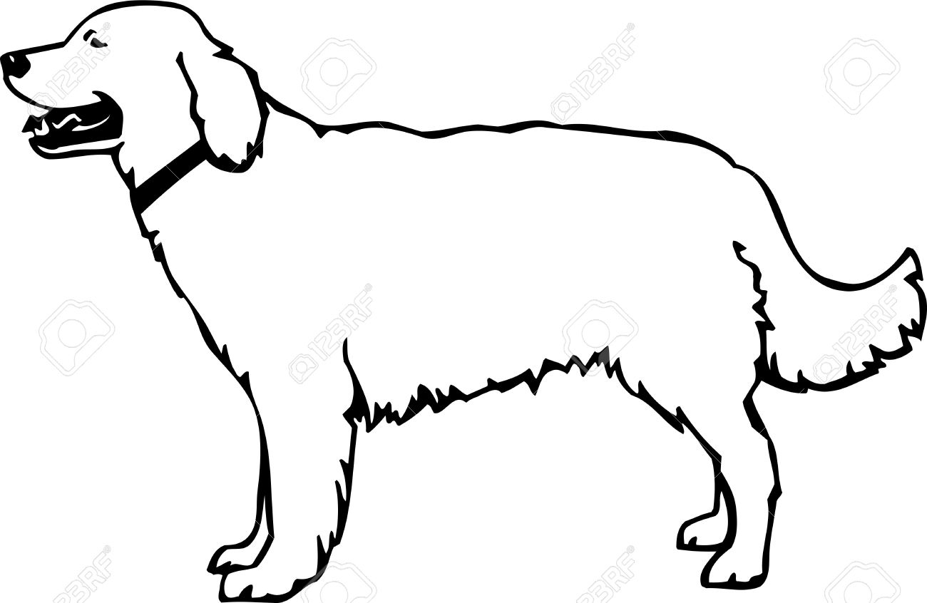 Retriever Clip Art