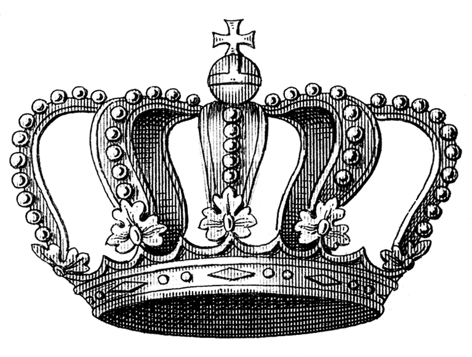 Royal Crown Clipart Black And White 20 Free Cliparts