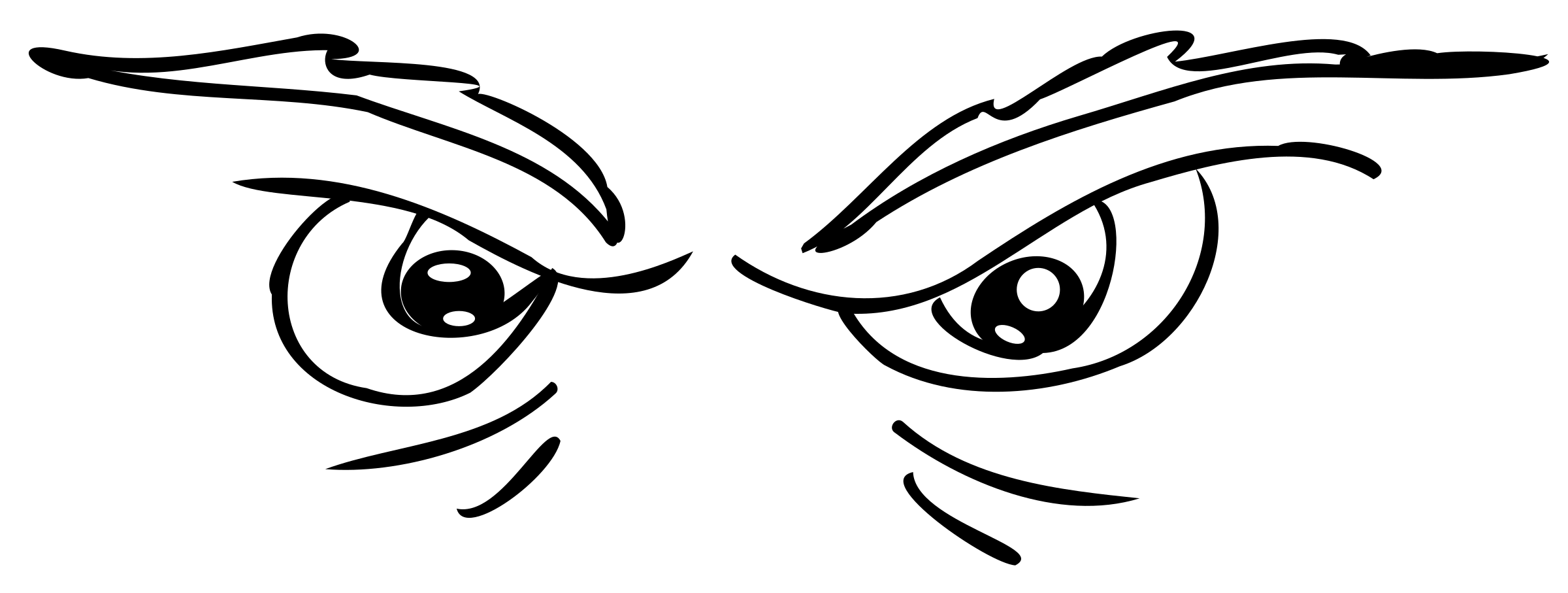Scary Eyes Clipart Free