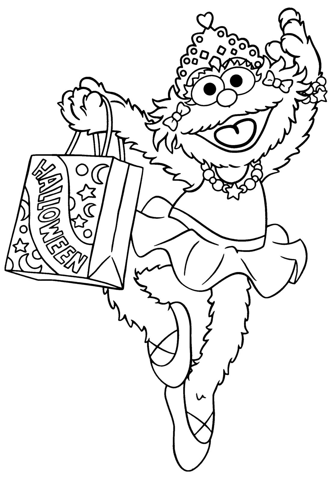 Sesame Street Christmas Clipart