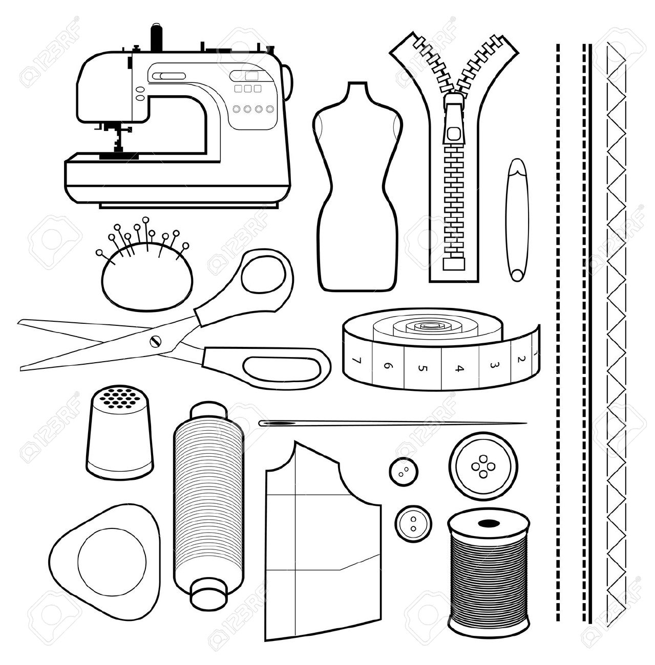 Sewing Equipment Clipart 20 Free Cliparts