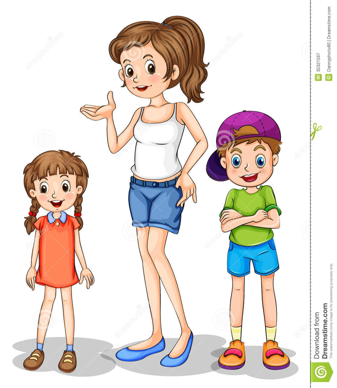 Short Girl Clipart 10 Free Cliparts