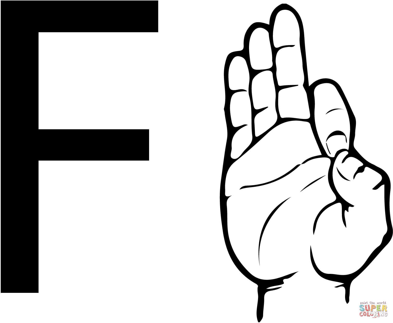 Sign Language Clipart Letter B