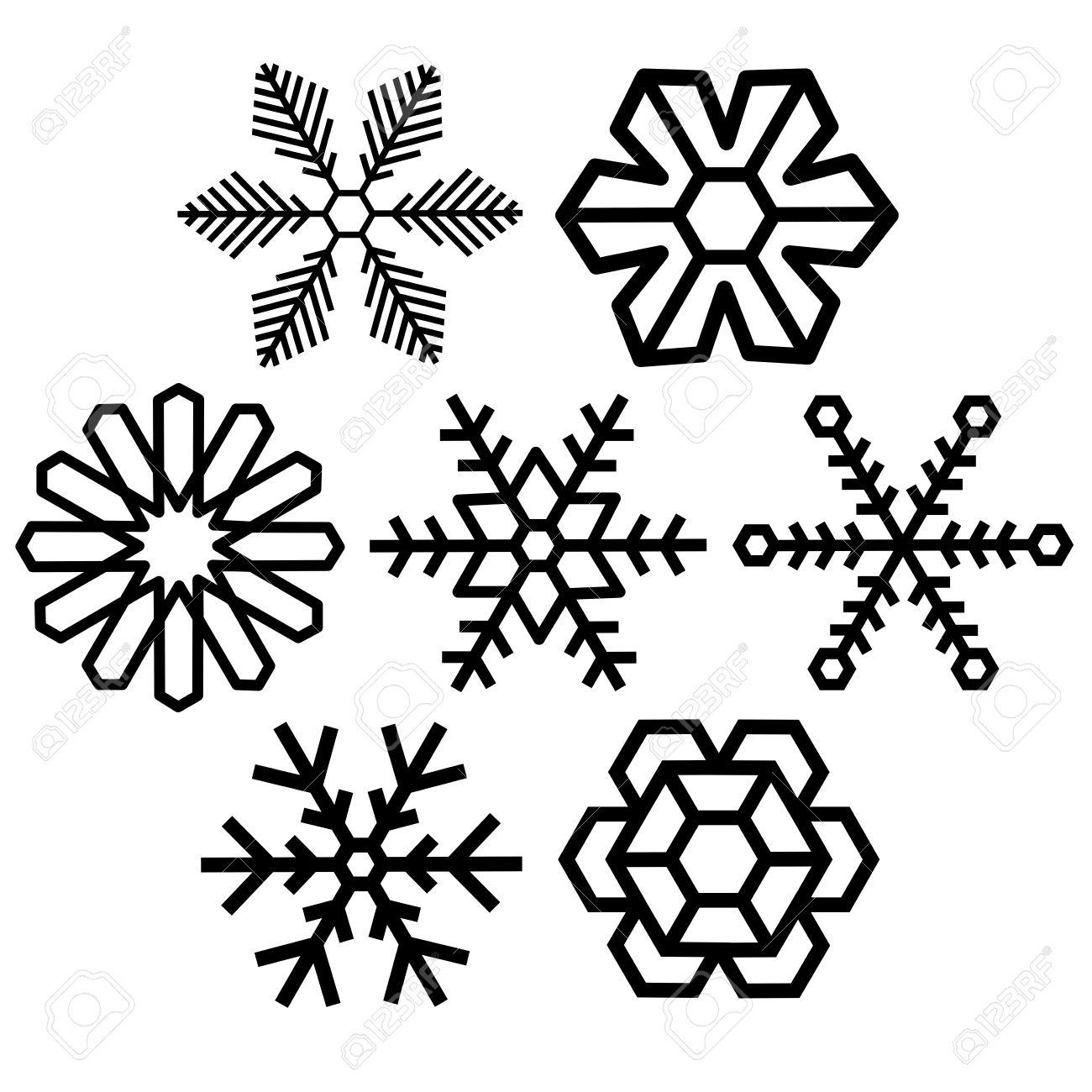 Snow Crystal Clipart