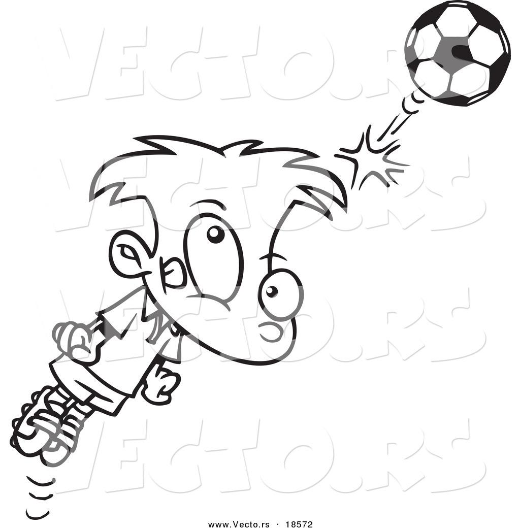 Soccer Header Clipart
