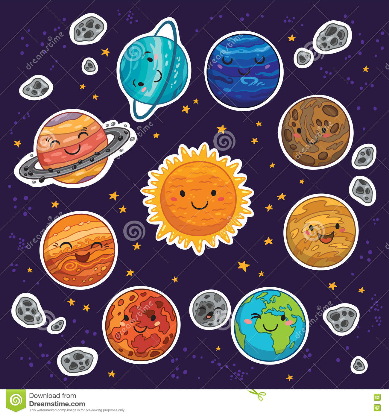 Solar System Clipart Kindergarten 20 Free Cliparts
