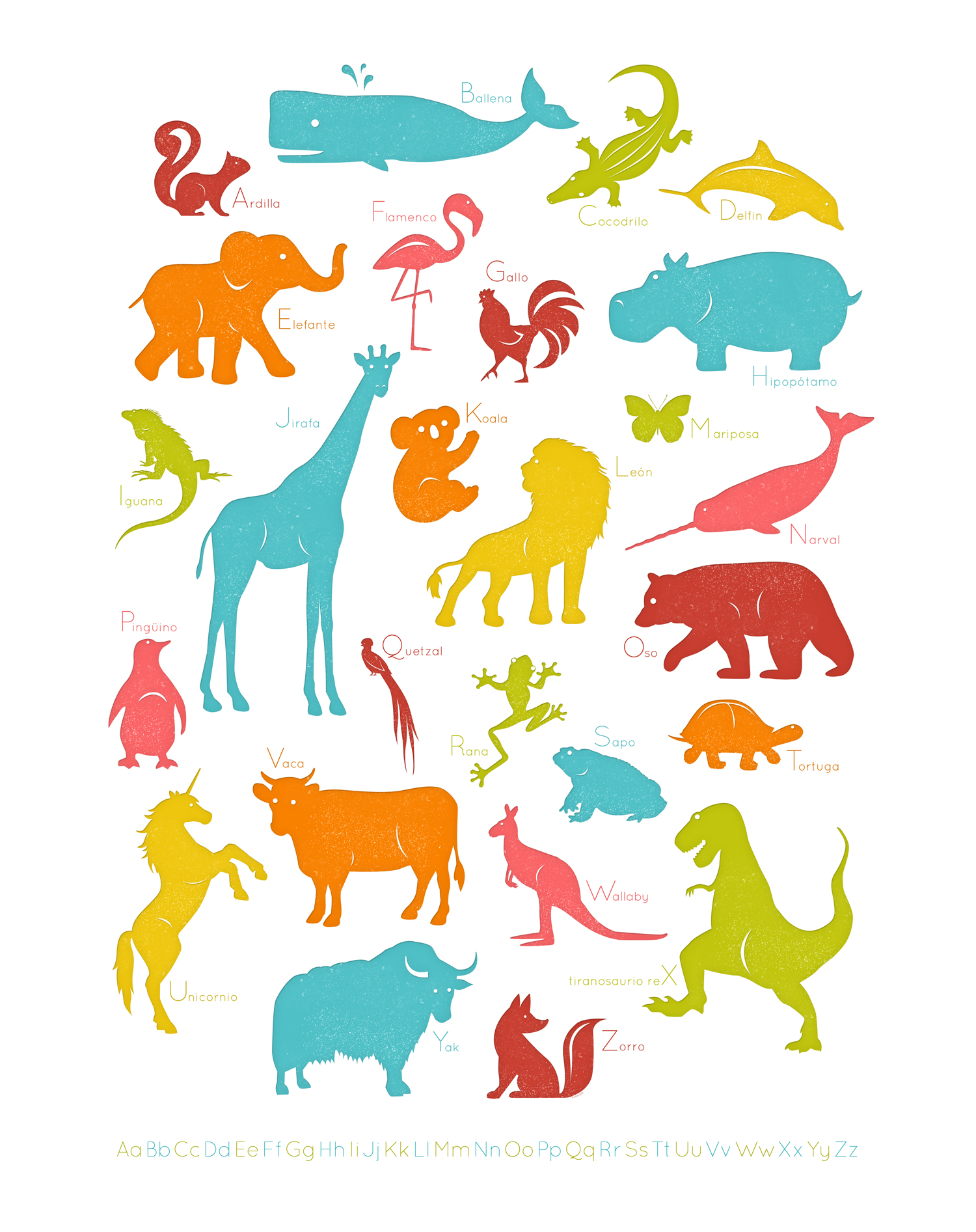 Spanish Animal Clipart