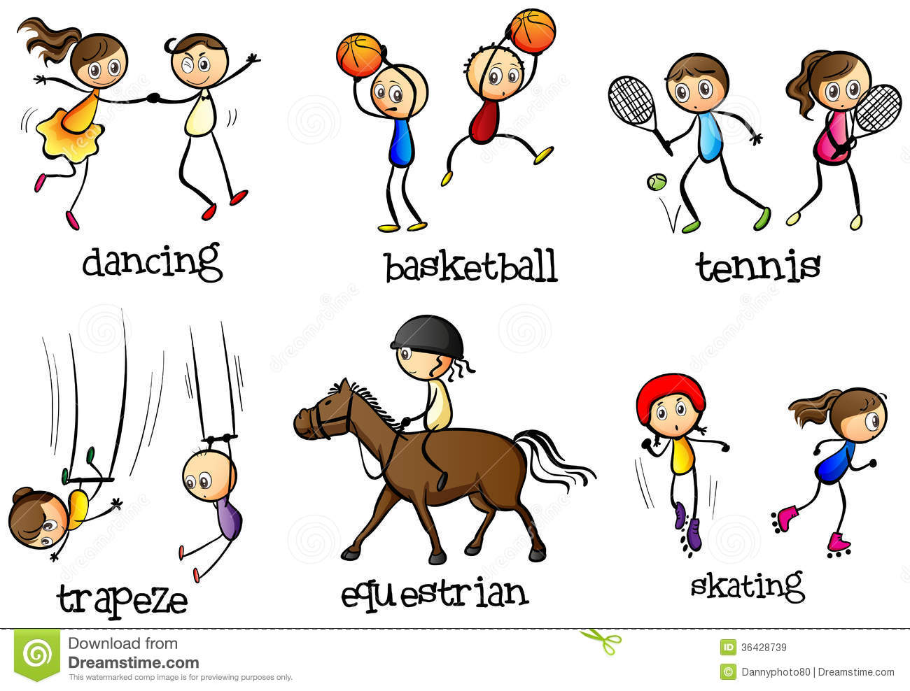 Sport Activity Clipart 20 Free Cliparts