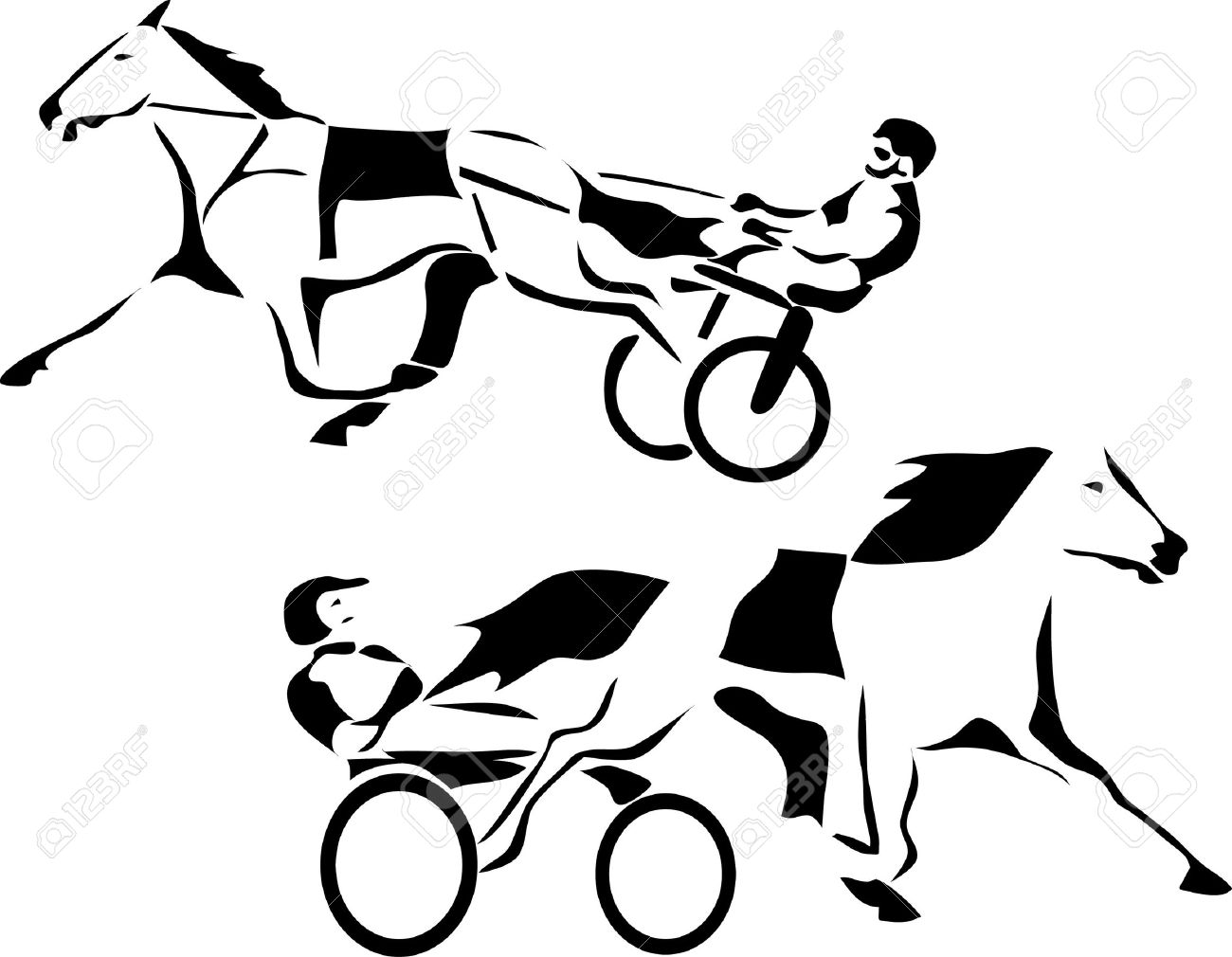 Standardbred Clipart 20 Free Cliparts
