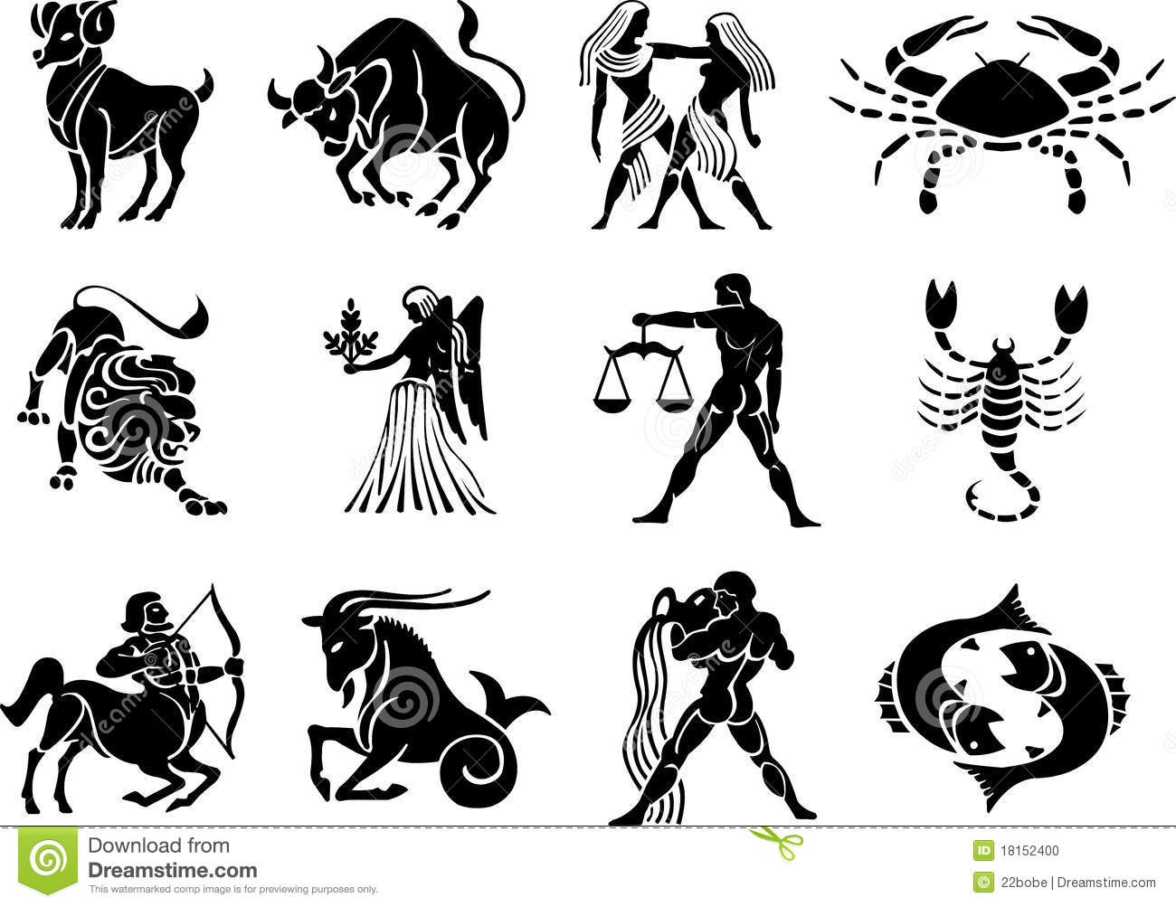 Star Signs Clipart