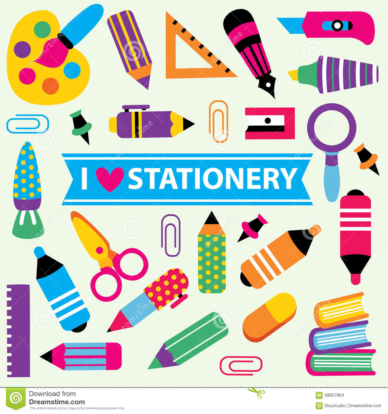 School Stationery Clipart 20 Free Cliparts