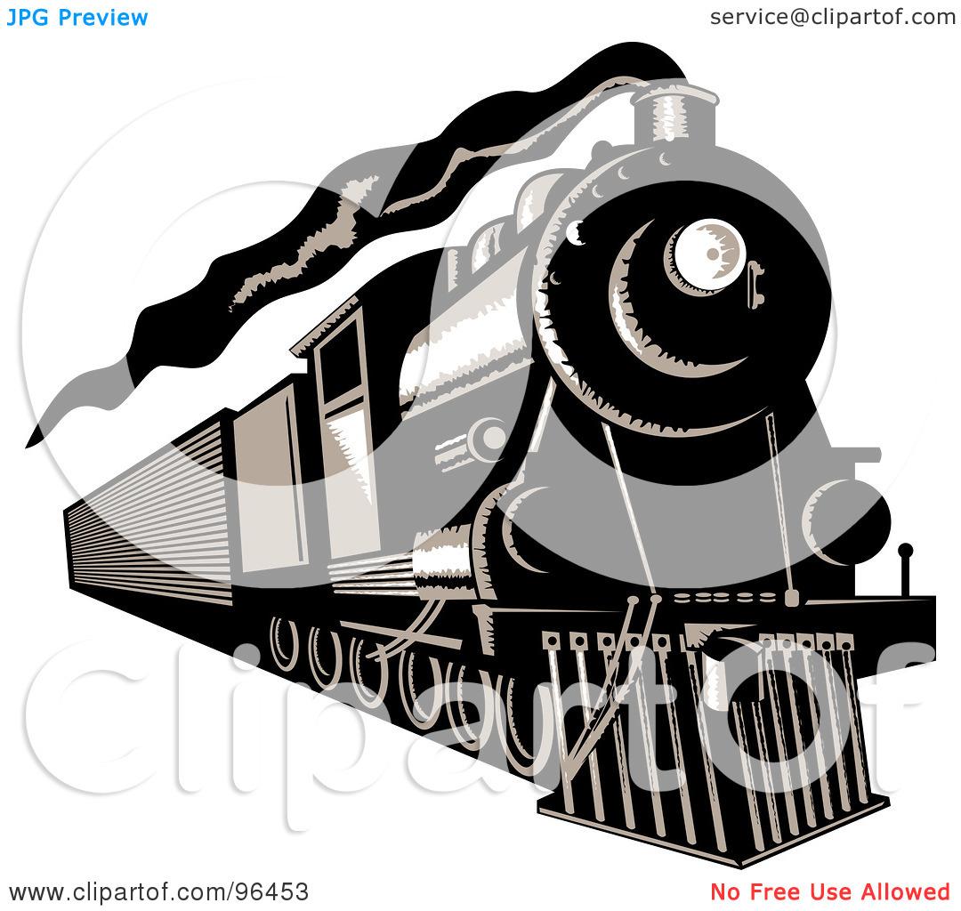 Steam Locomotive Clipart