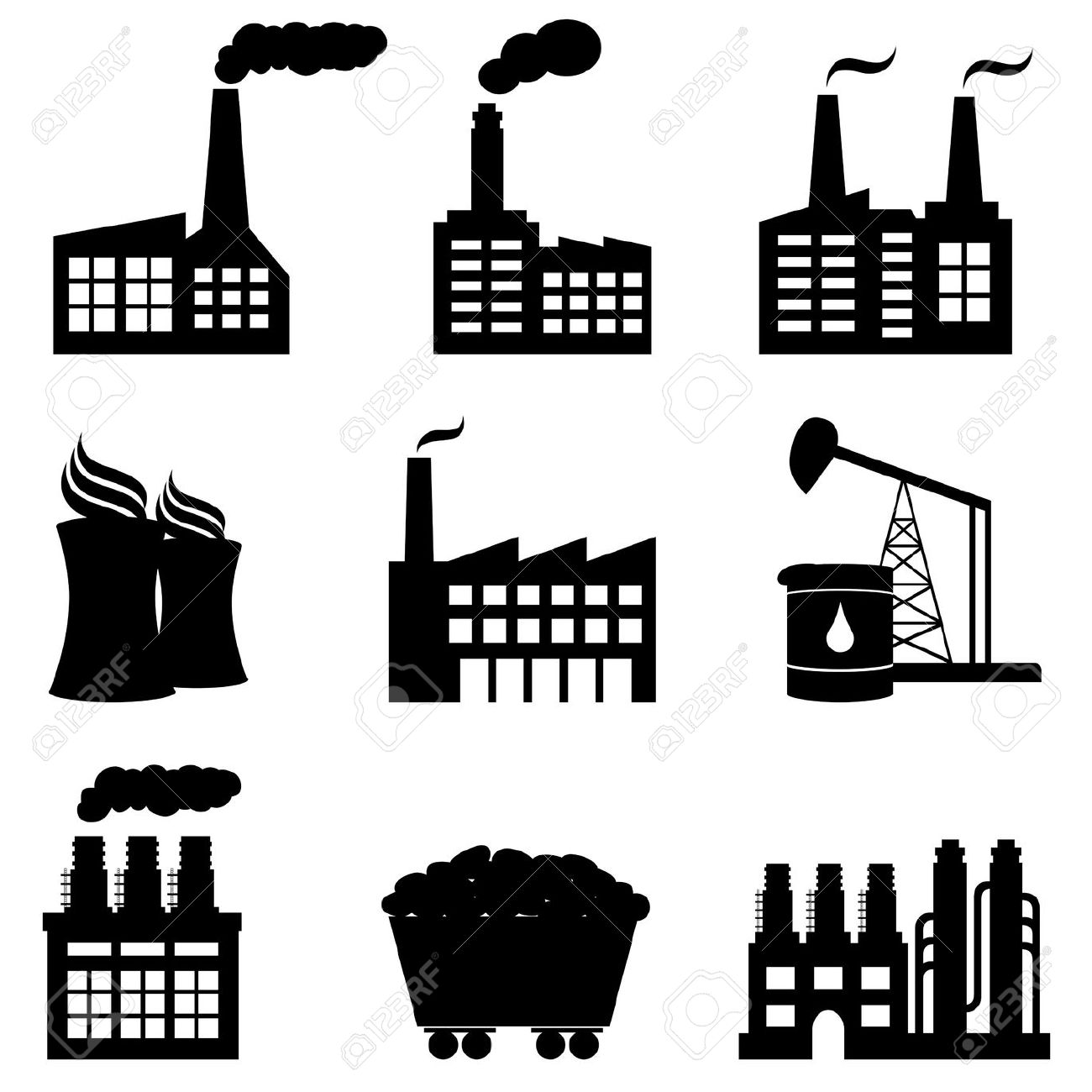 Steam Power Clipart