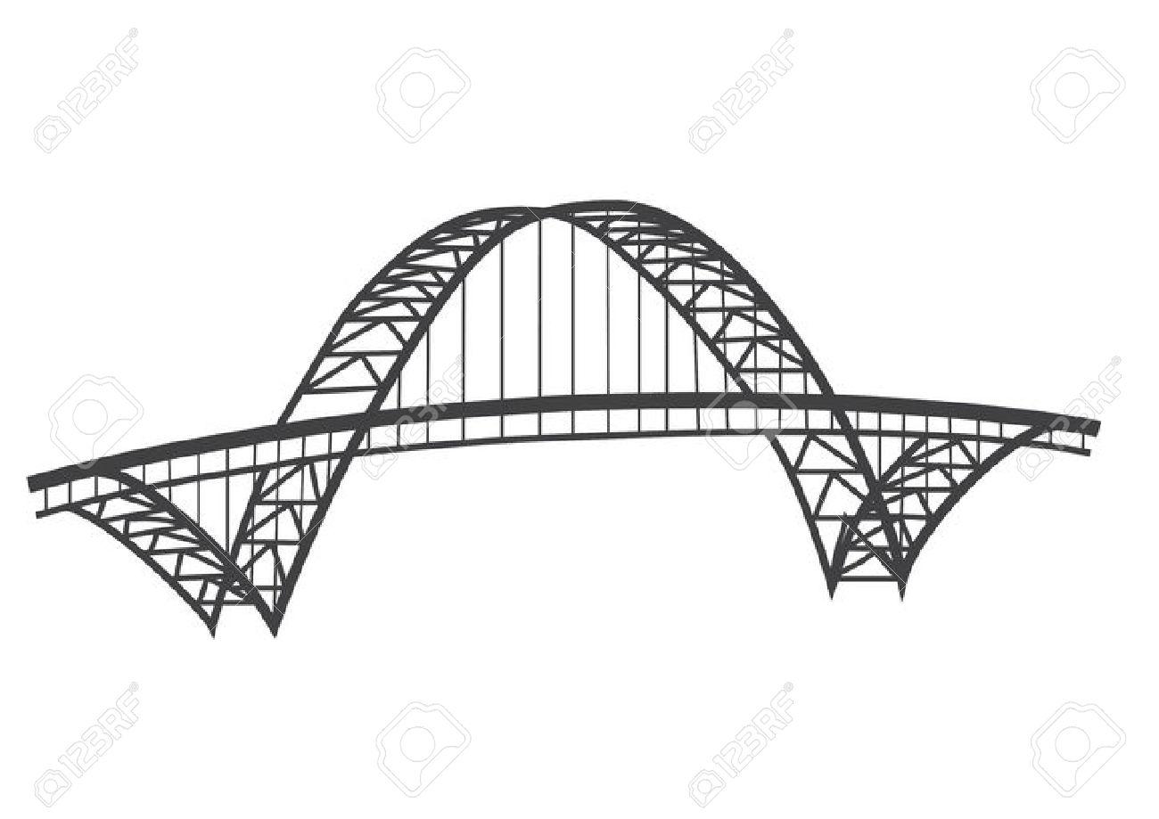 Bridge And White Portland Black