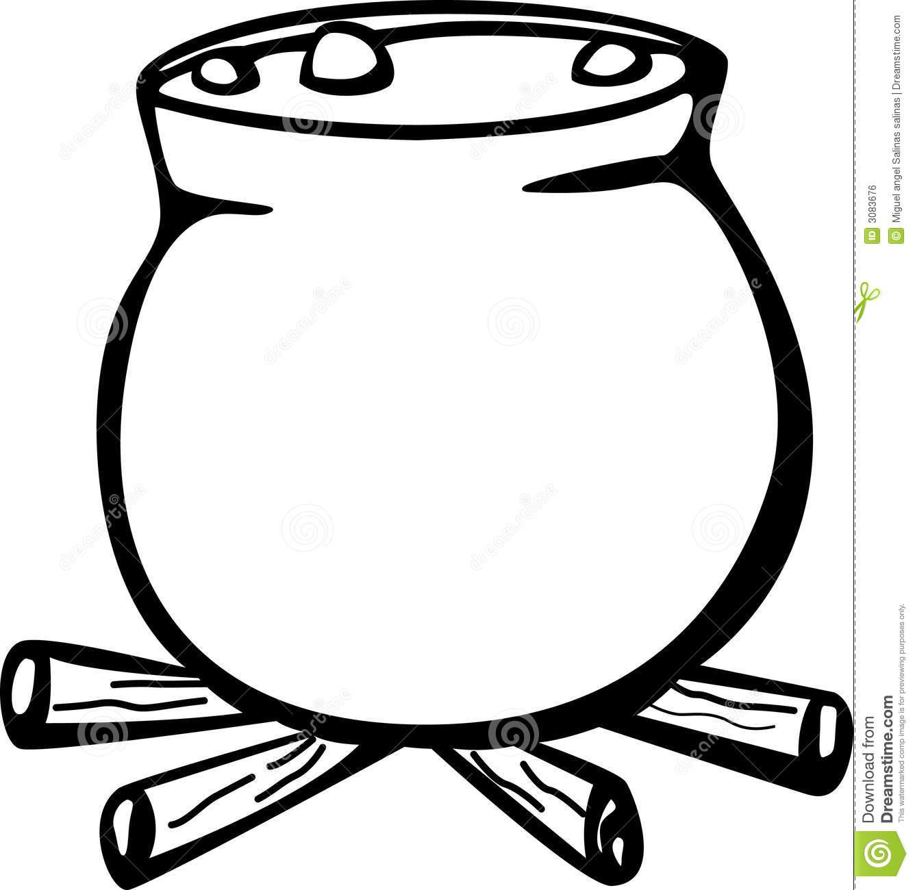 Stone Pot Clipart