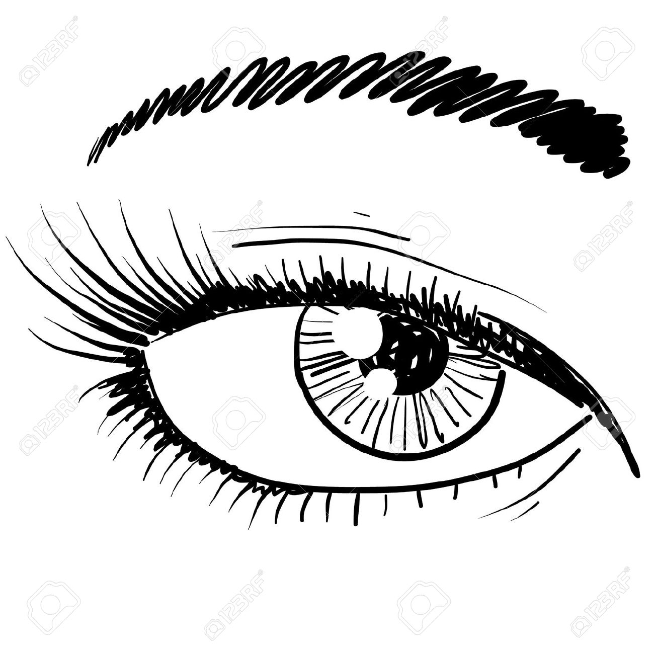 Style Of Eye Clipart