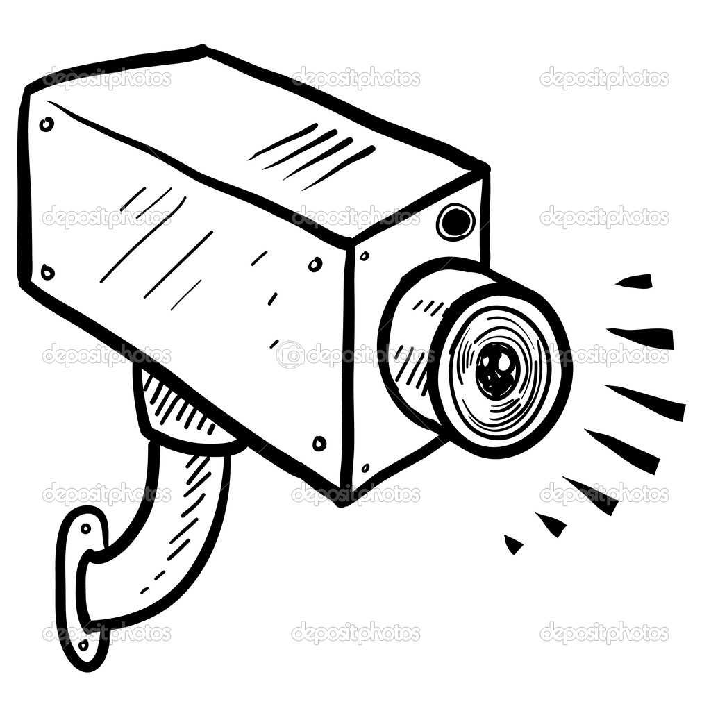 Surveillance Camera Clipart