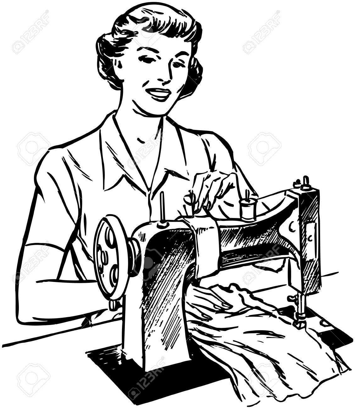Tailoring Clipart