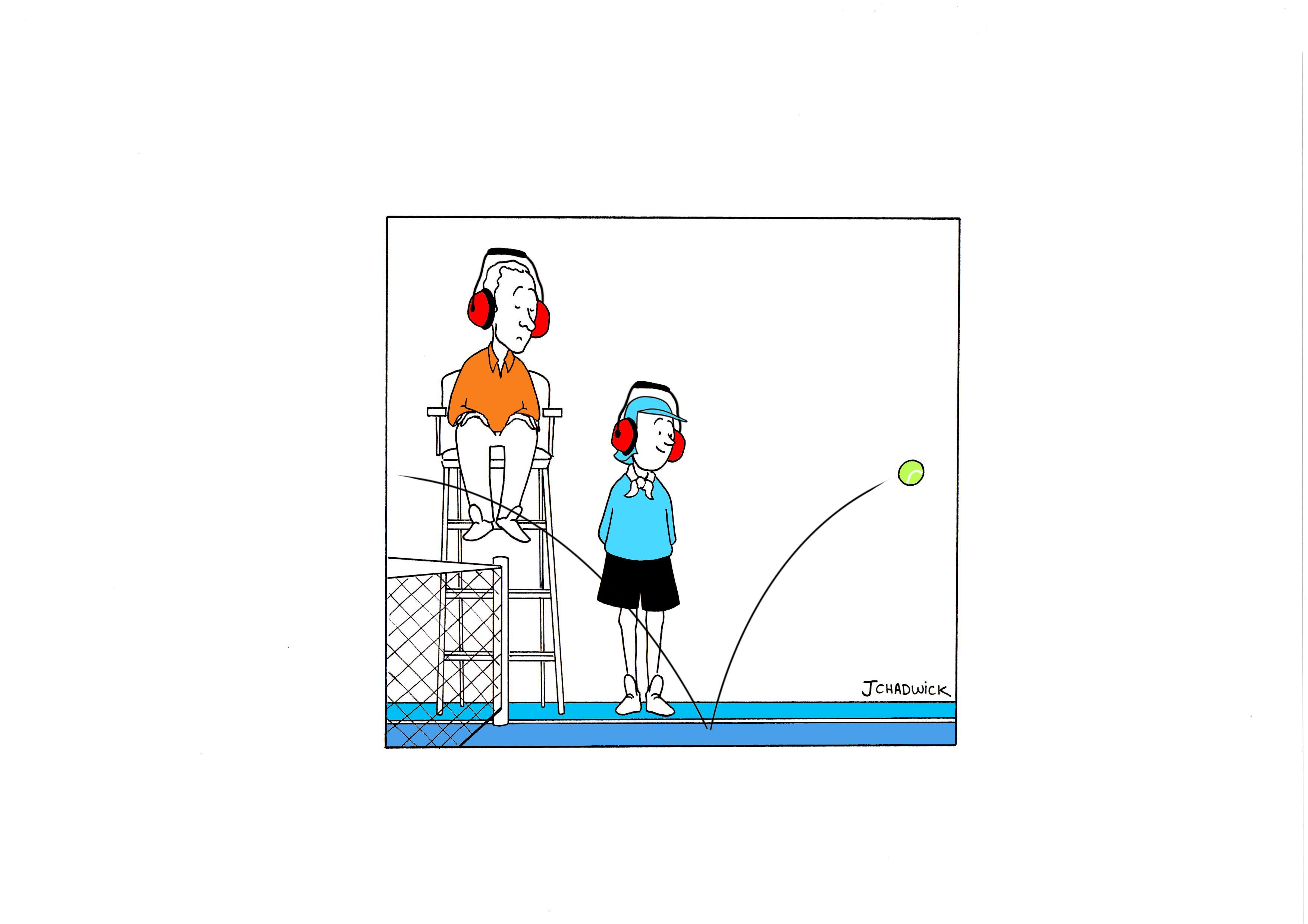 Tennis Umpire Clipart